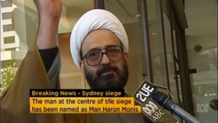 Man Haron Monis, originaire d'Iran, a pris en otage pendant plus de seize heures une quinzaine de personnes à Sydney, le 15 décembre 2014.