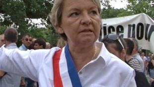 Мари-Клод Бомпар - мэр города Боллен