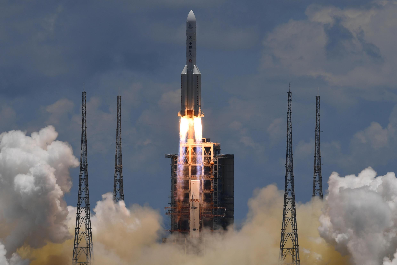 "Pequim lançou a sonda ""Tianwen-1"""