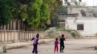 Enfants en Syrie. Photo datée du 22 mai 2012.
