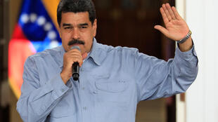 El presidente Maduro el 4 de abril de 2018.