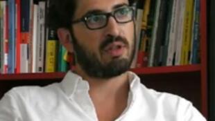 Le journaliste français Thomas Huchon auteur de «Allende, c'est une idée qu'on assassine».