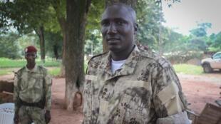 Le général Ali Darass dans son fief de Bambari en RCA.