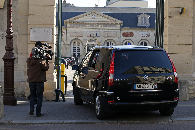Chegada ao Tribunal do presumível autor do atentado contra o museu judeu de Bruxelas, Mehdi Nemmouche.