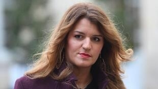 La désormais ex-secrétaire d'État à l'Égalité hommes-femmes et à la lutte contre les discriminations, Marlène Schiappa.