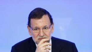El primer ministro español Mariano Rajoy.
