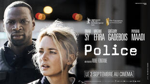 Police, le 18e film d'Anne Fontaine, avec Virginie Efira, Omar Sy et Grégory Gadebois.