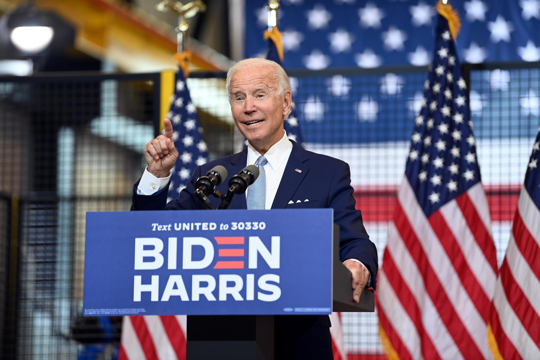 Mgombea wa chama cha Democratic Joe Biden.