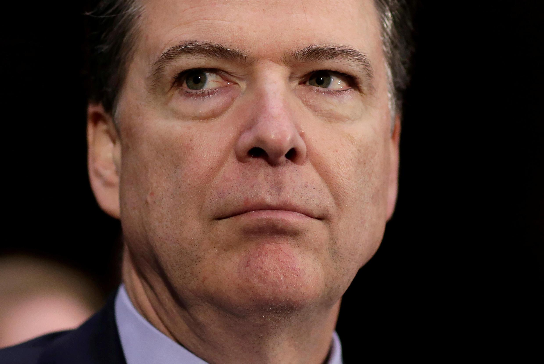 James Comey, giám đốc FBI, Washington, ngày 10/01/2017.