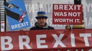 Manifestant anti Brexit