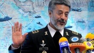 دریادار حبیب الله سیاری، فرمانده نیروی دریایی ارتش