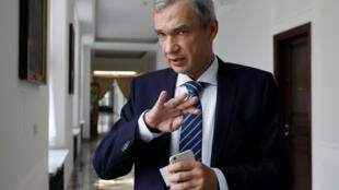 Член президиума белорусского Координационного совета Павел Латушко в Польше 3 сентября 2020.