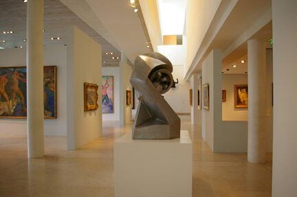 Intérieur du musée des Beaux-Arts de Nancy