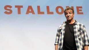Sylvester Stallone é uma das estrelas desta edição do Festival de Cannes. Cannes 24/05/19