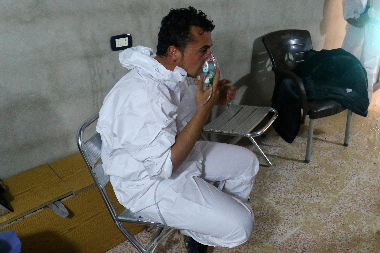Khan Cheikhoun: la ville a été la cible d'une double attaque dont la première aurait été au gaz toxique ce mardi 4 avril.