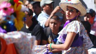 Desfile mexicano en Nueva York.