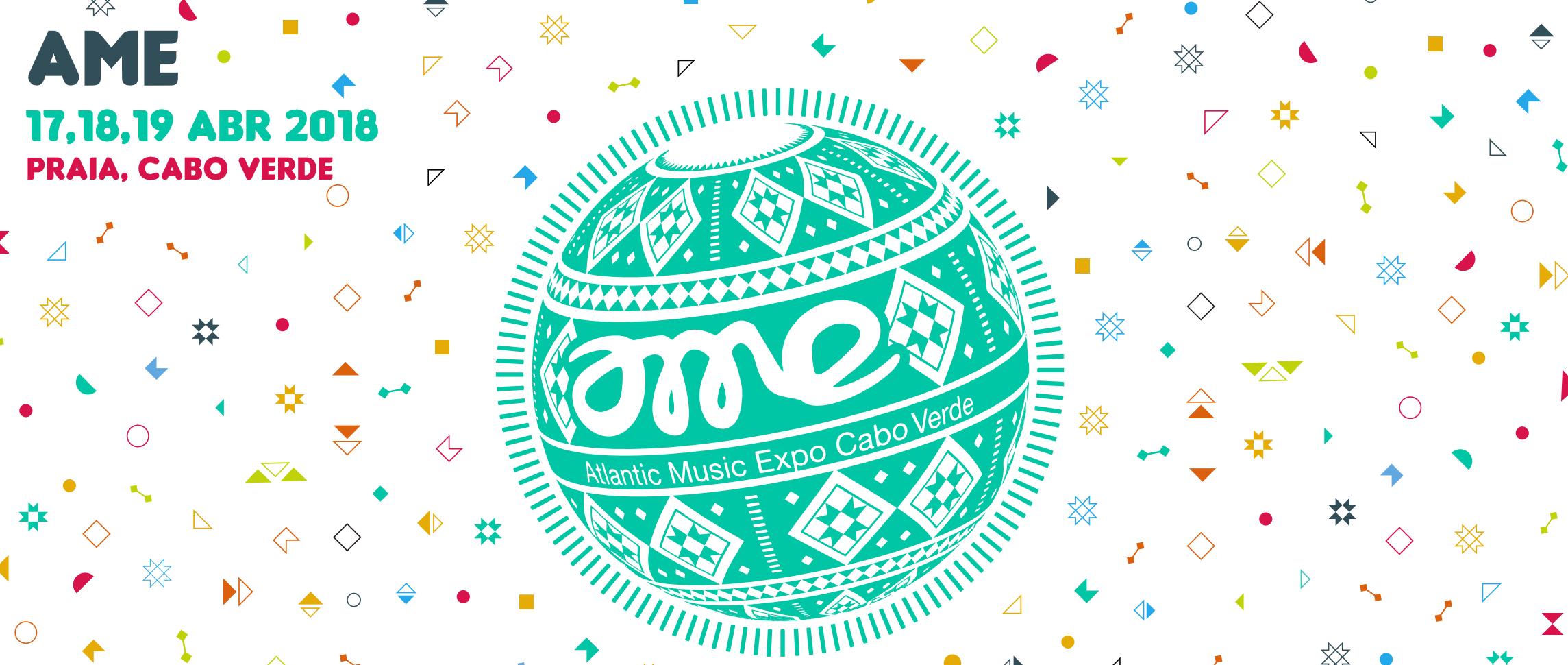 Cartaz do Atlantic Music Expor - AME 2018