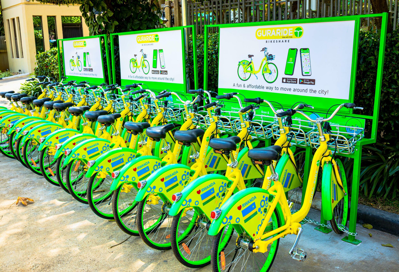 Rwanda - vélo - libre-service