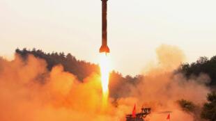 朝鮮導彈試射