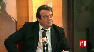 Thierry Solère, interviewed by RFI in 2017