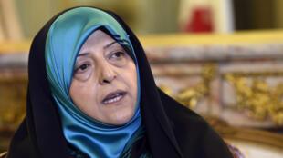 Iranian Energy Minister and Vice-President Massoumeh Ebtekar