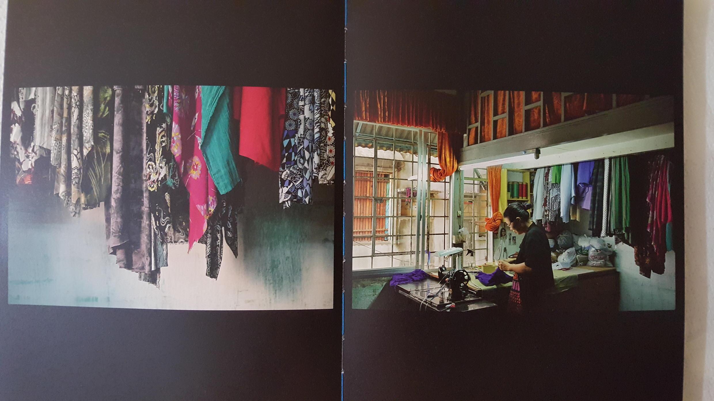"""Thợ may"" trong tập ảnh President Hotel của Laurent Weyl."