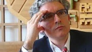 Diogo Sardinha, Filósofo português, Presidente do Colégio Int. Filosofia em Paris, foto do Instituto francês de Bucareste
