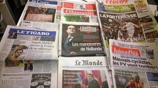 Diários franceses 08/12/2014
