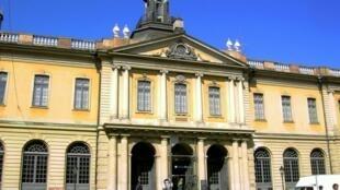 Sede de la Academia Sueca, en Estocolmo.