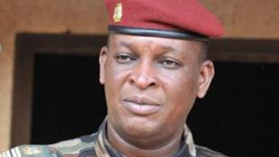 Le dirigeant par intérim de la junte et ministre de la Défense, le général Sékouba Konaté.