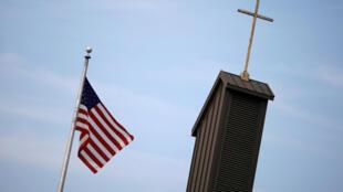 Igreja católica de St. Joseph em Hanover, Pennsylvania, nos Estados Unidos.