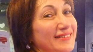 La pianista Lucia Abonizio en los estudios de RFI en París.