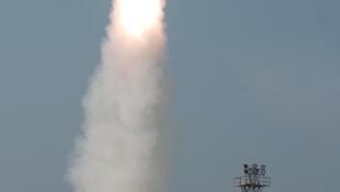 Một vụ bắn thử tên lửa AAD của Ấn Độ, ngày 26/01/2008