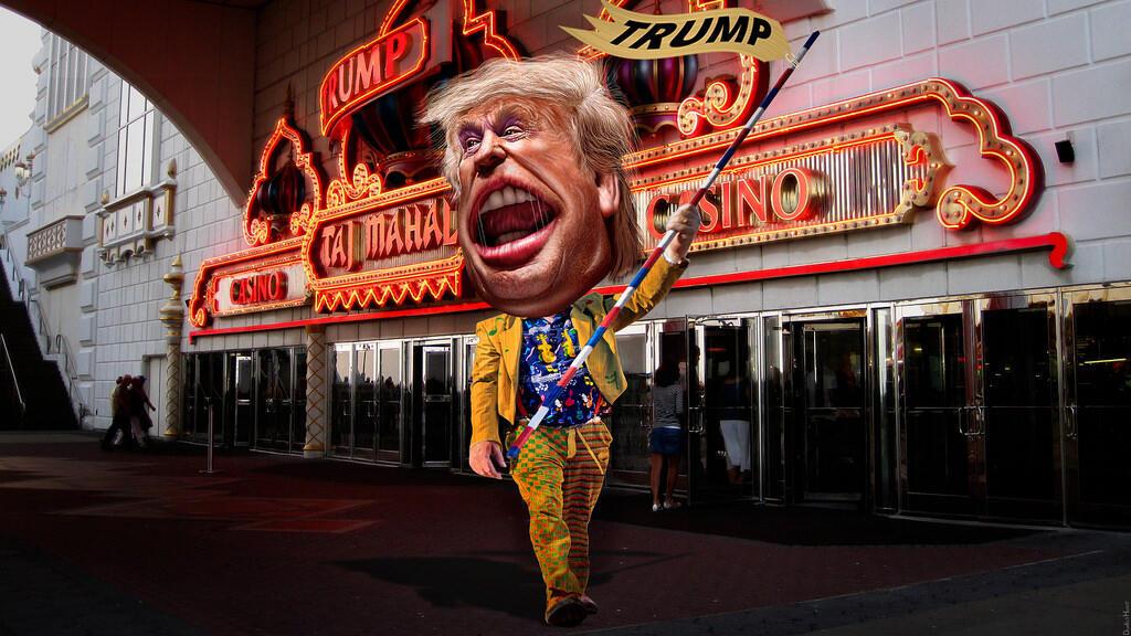 Hình ảnh hài hước về ông Donald Trump