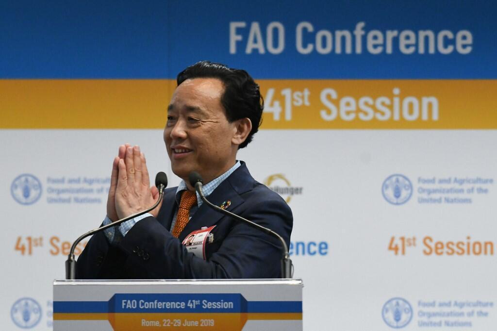 Tân tổng giám đốc FAO Khuất Đông Ngọc (Qu Dongyu), người Trung Quốc.