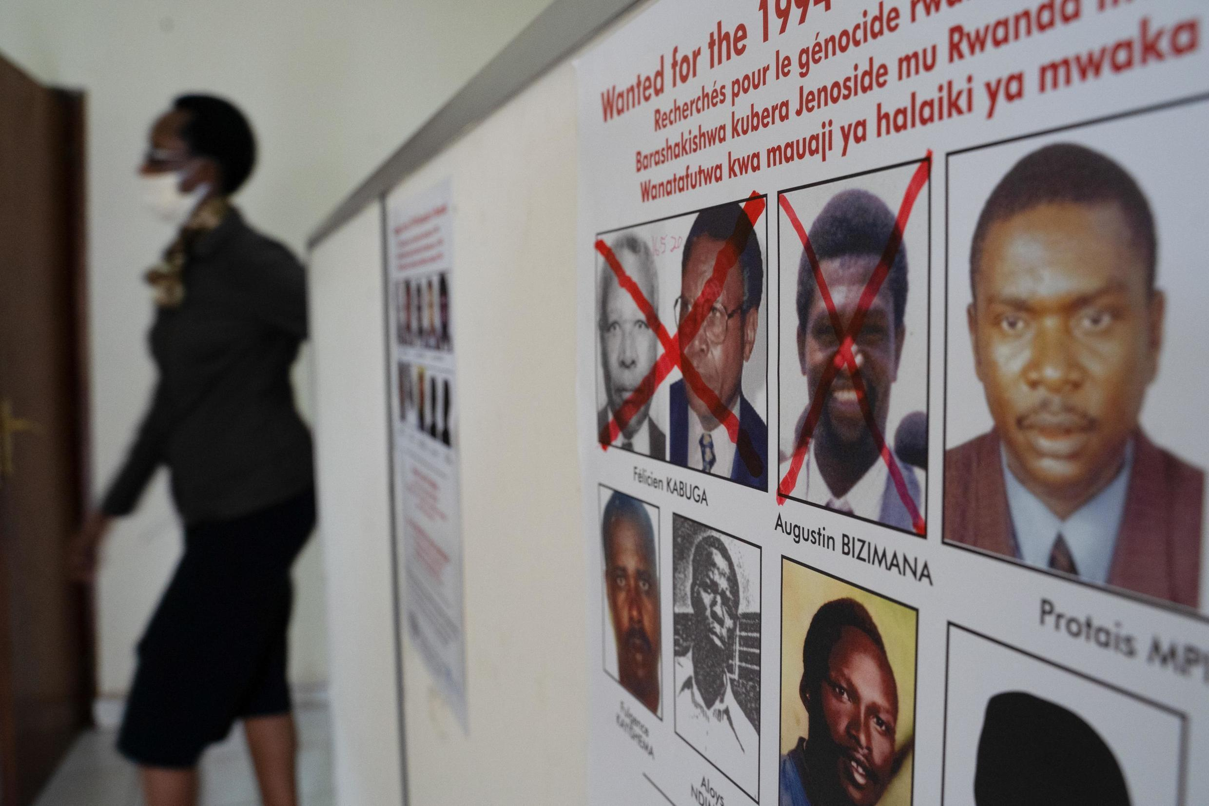 Augustin Bizimana and Félicien Kabuga crossed out among the other principal fugatives on the run since the 1994 genocide.