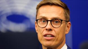 Le Finlandais Alexander Stubb, au Parlement européen, à Strasbourg, le 2 octobre 2018.