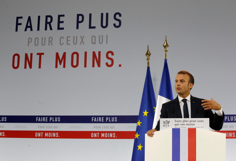Emmanuel Macron, Presidente da França.