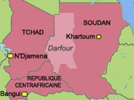 Localisation du Darfour