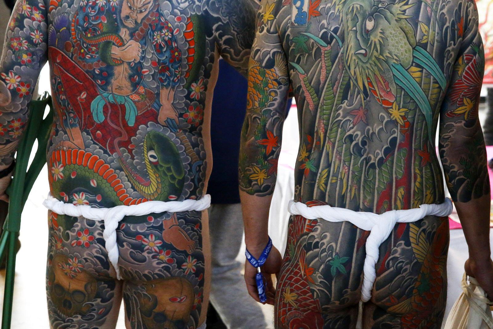 El mundial acoje las personas que exhiben sus cuerpos y tatuajes