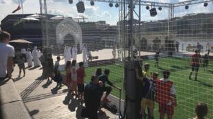 Operação dos organizadores da Copa do Mundo do Catar 2022