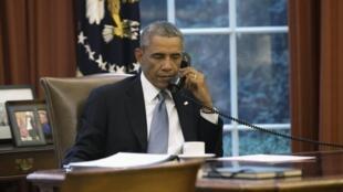 奧巴馬9月10日與沙特國王通話磋商中東局勢