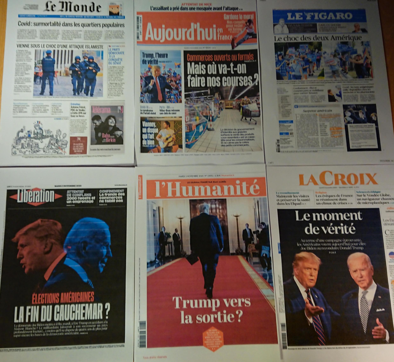 Diários franceses 03 11 2020