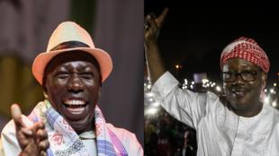 Candidatos à segunda volta das eleições presidenciais na Guiné-Bissau: Domingos Simões Pereira e Umaro Sissoco Embaló