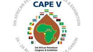 Le logo du 5ème Congrès africain du Pétrole & Exposition (CAPE V).