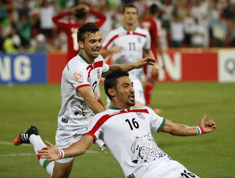 """بازیکن شماره ١٦ """"رضا قوچاننژاد""""، با تک گل دقیقه  ٩١، توانست بازی را به نفع تیم ایران به پایان برساند."""