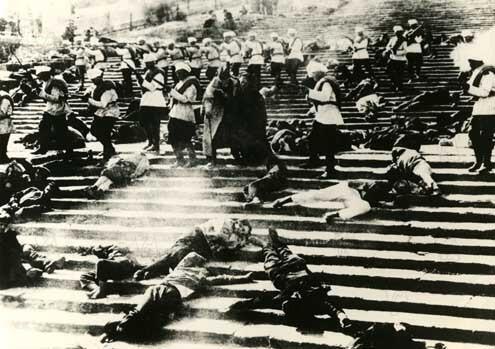 Fleuron du patrimoine cinématographique russe, «Le Cuirassé Potemkine», de Sergueï Eisenstein (1925).