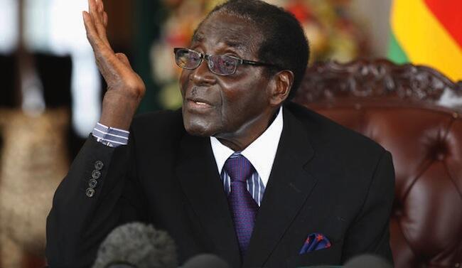 91 years old on Saturday - Zimbabwe's President Robert Mugabe