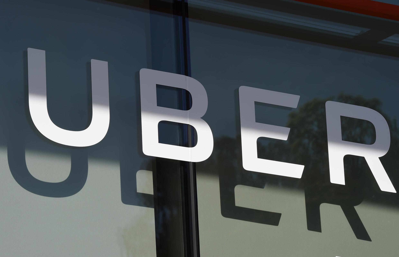 Logo của tập đoàn Uber