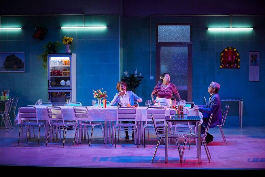 """Một cảnh trong vở kịch """"Saigon"""" tại Liên hoan Avignon"""